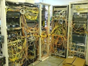 server room clean up