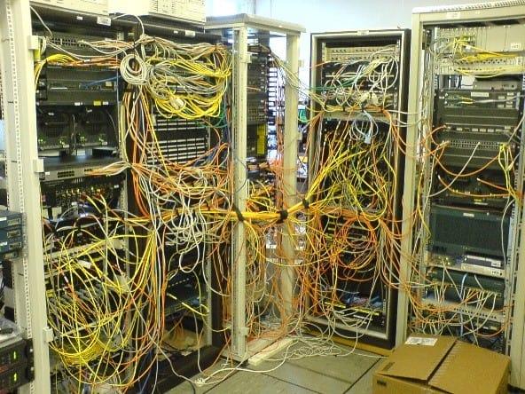 server room clean up